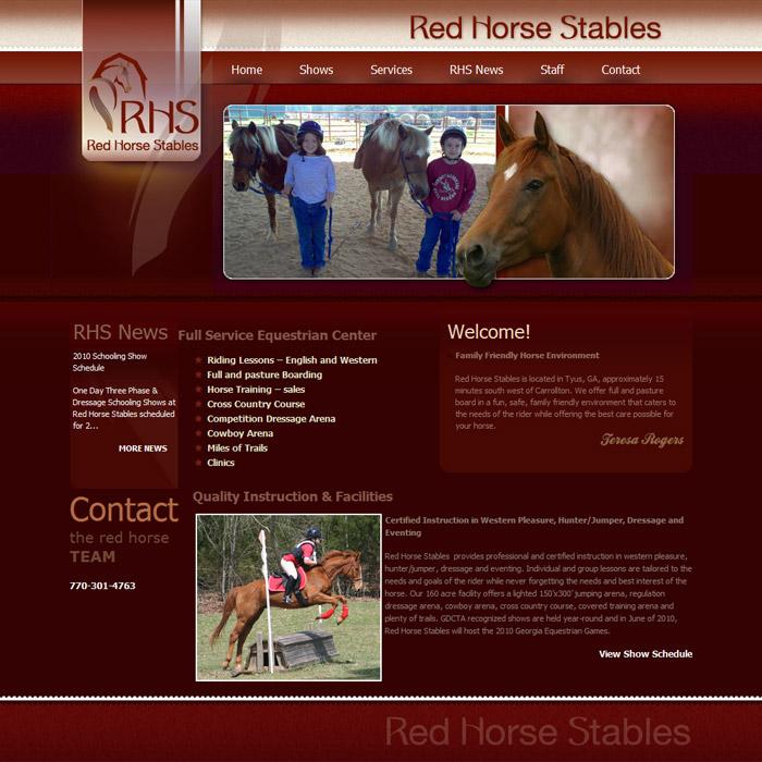Equine Originals - Original Equine Web Desgin, Graphics and